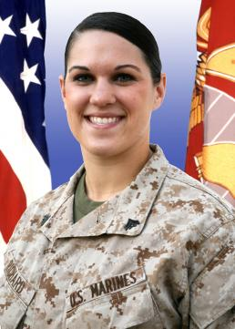 Cpl. Rebekah Richard Awarded Navy And Marine Corps Achievement ...