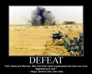 Marine Corps Motivational Poster