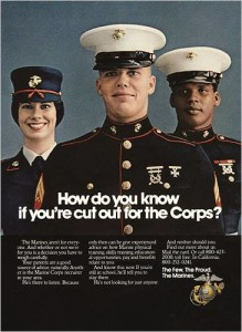 Marine Corps Recruiting Posters Marine Corps Moto Photo