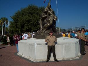 Iwo Jima Memorial at Parris Island